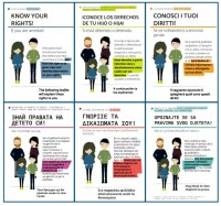 Information leaflets: The rights of children in criminal proceedings