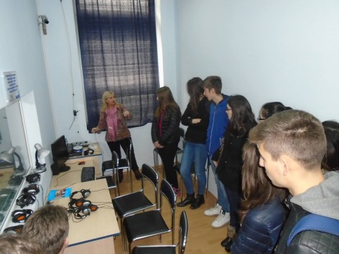 Public Mediator Mr. Ivan Kapralov and Urban Student Parliament support the cause of the Protection zone in Shumen